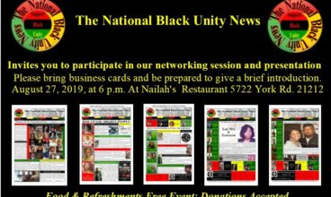 The National Black Unity News (Press Release)